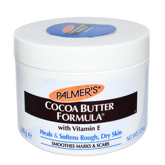 Jar of cocoa butter