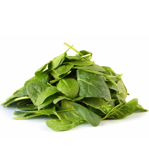 A pile of spinach