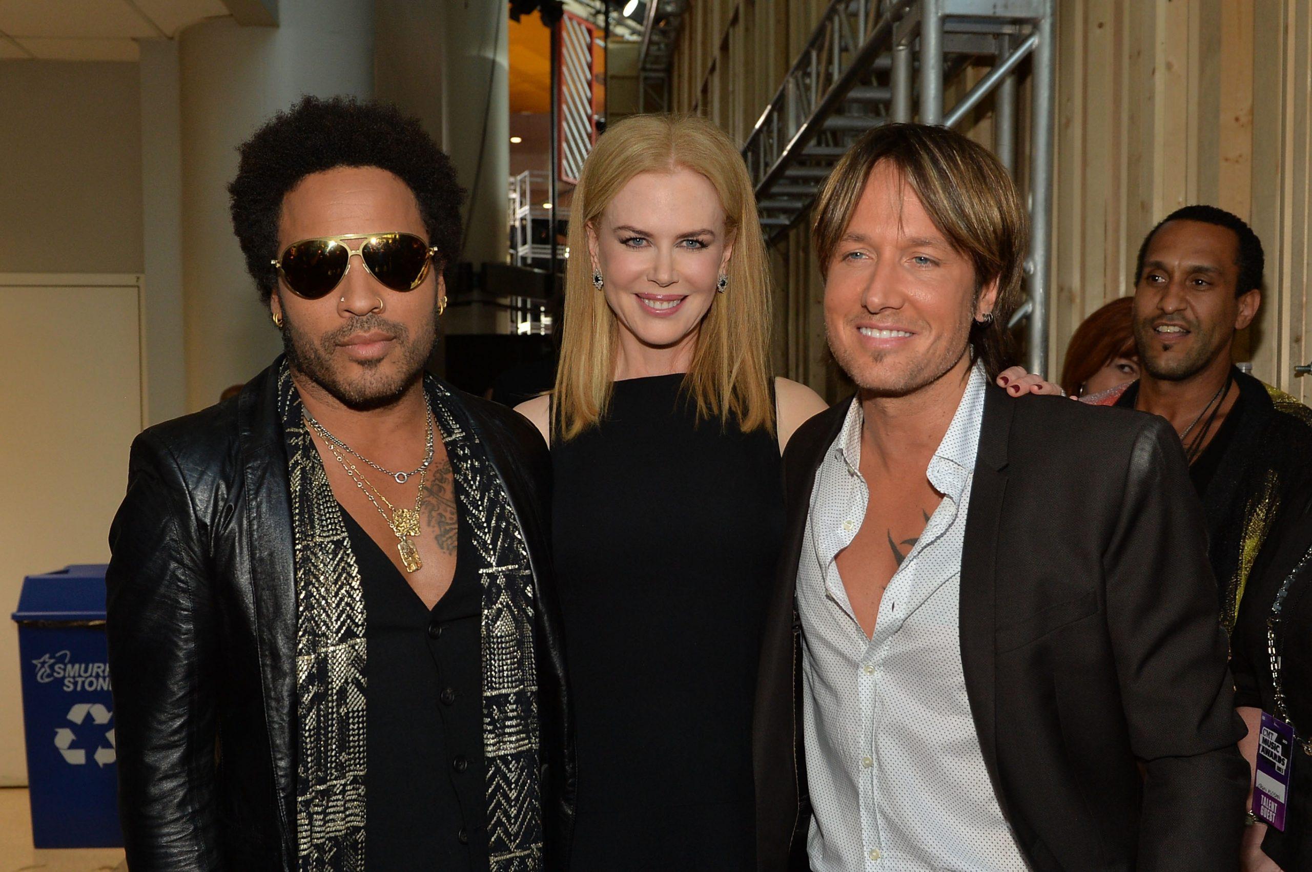 Lenny Kravitz and Nicole Kidman still friends