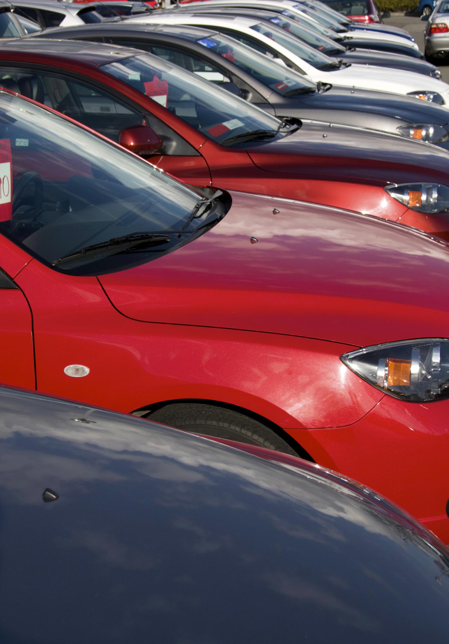 Buying flashy cars