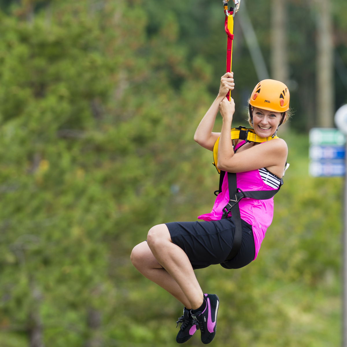9. Test Out the New Zip Lining Course