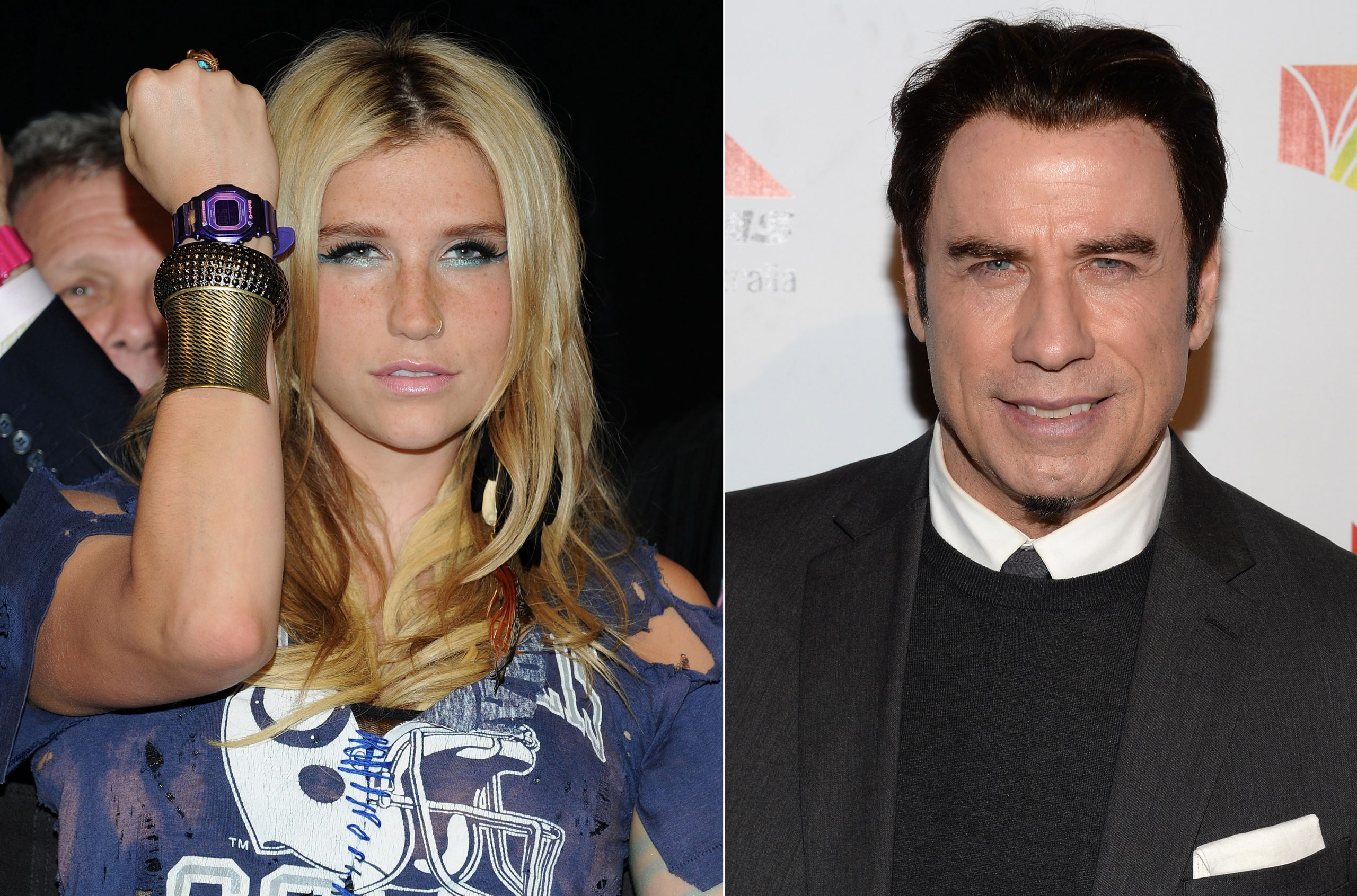 Ke$ha and John Travolta