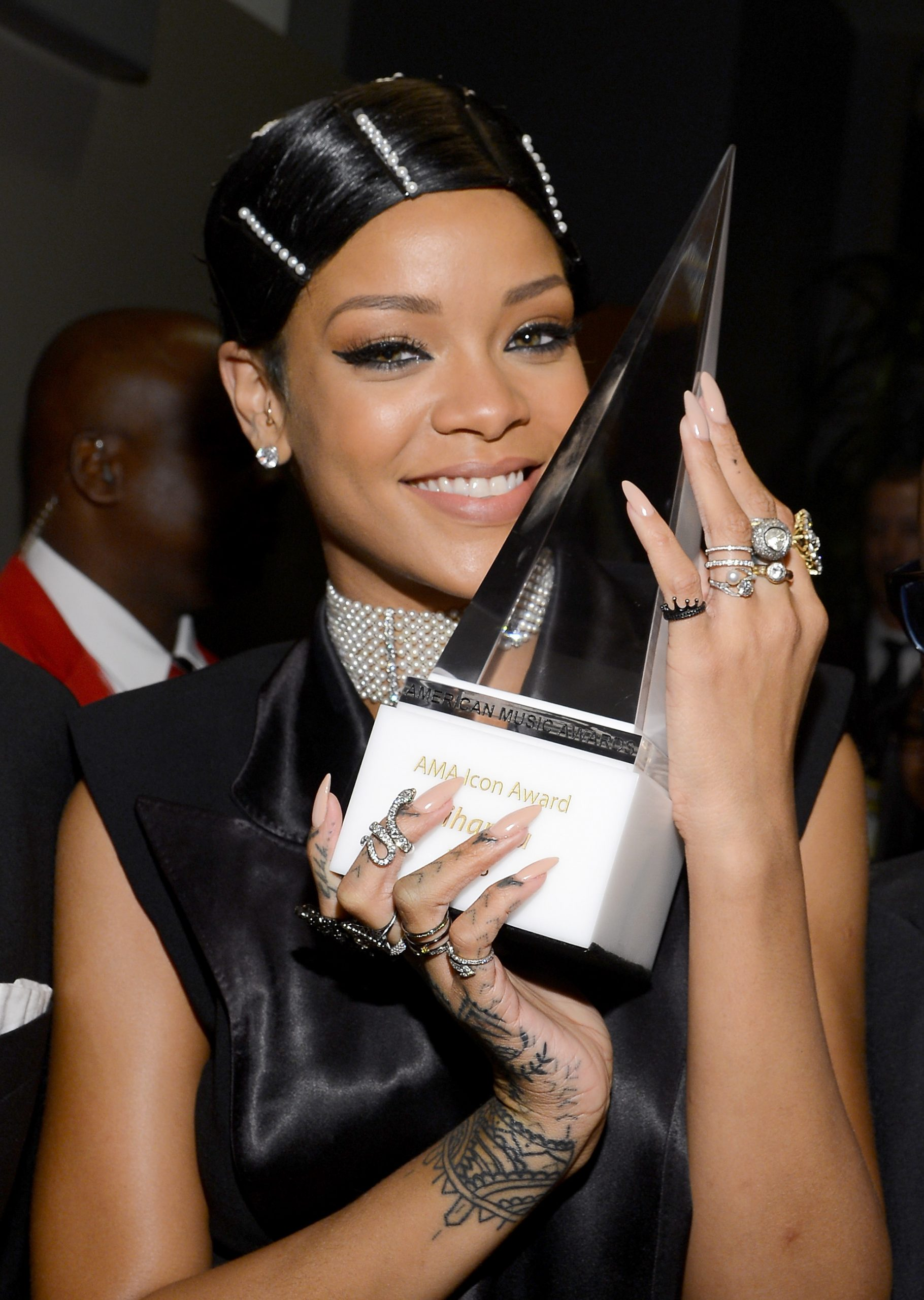 After: Rihanna