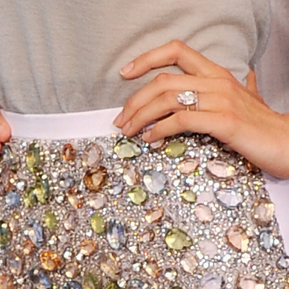 Celebrity Engagement Rings And Their Affordable Alternatives Slice