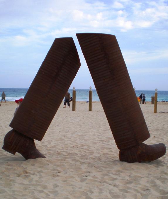 Sculpture by the Sea, between Bondi and Tamarama, NSW