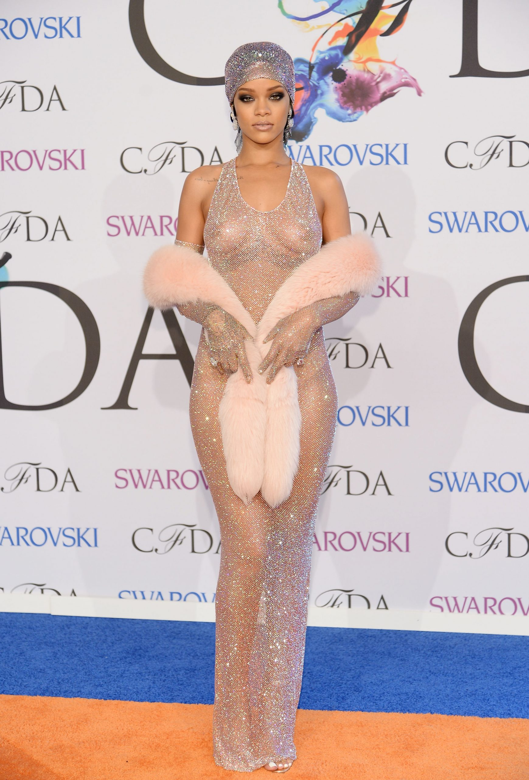 Rihanna at the CFDA Fashion Awards