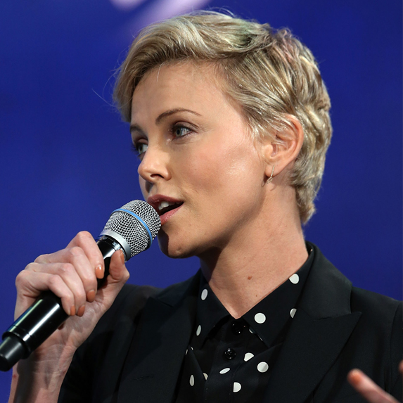 After: Charlize Theron