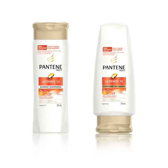 Pantene Ultimate 10 Shampoo and Conditioner