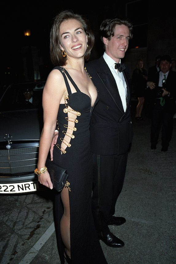 Elizabeth Hurley at the 'Four Weddings and a Funeral' Premiere