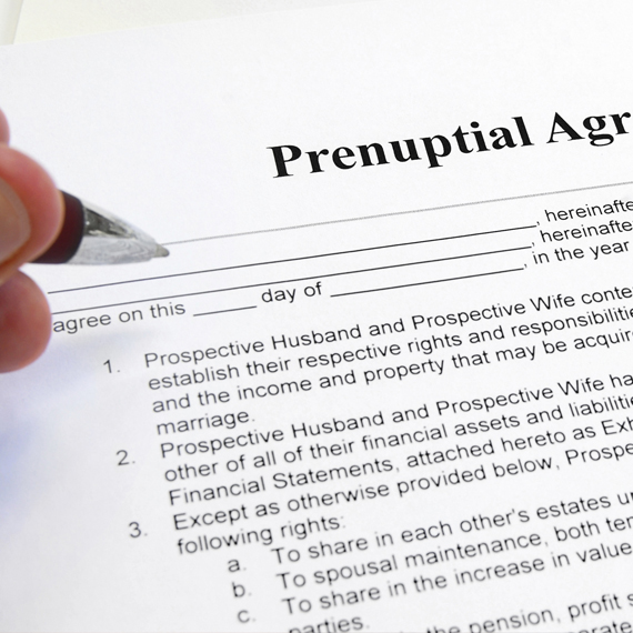 The Prenuptial Agreement