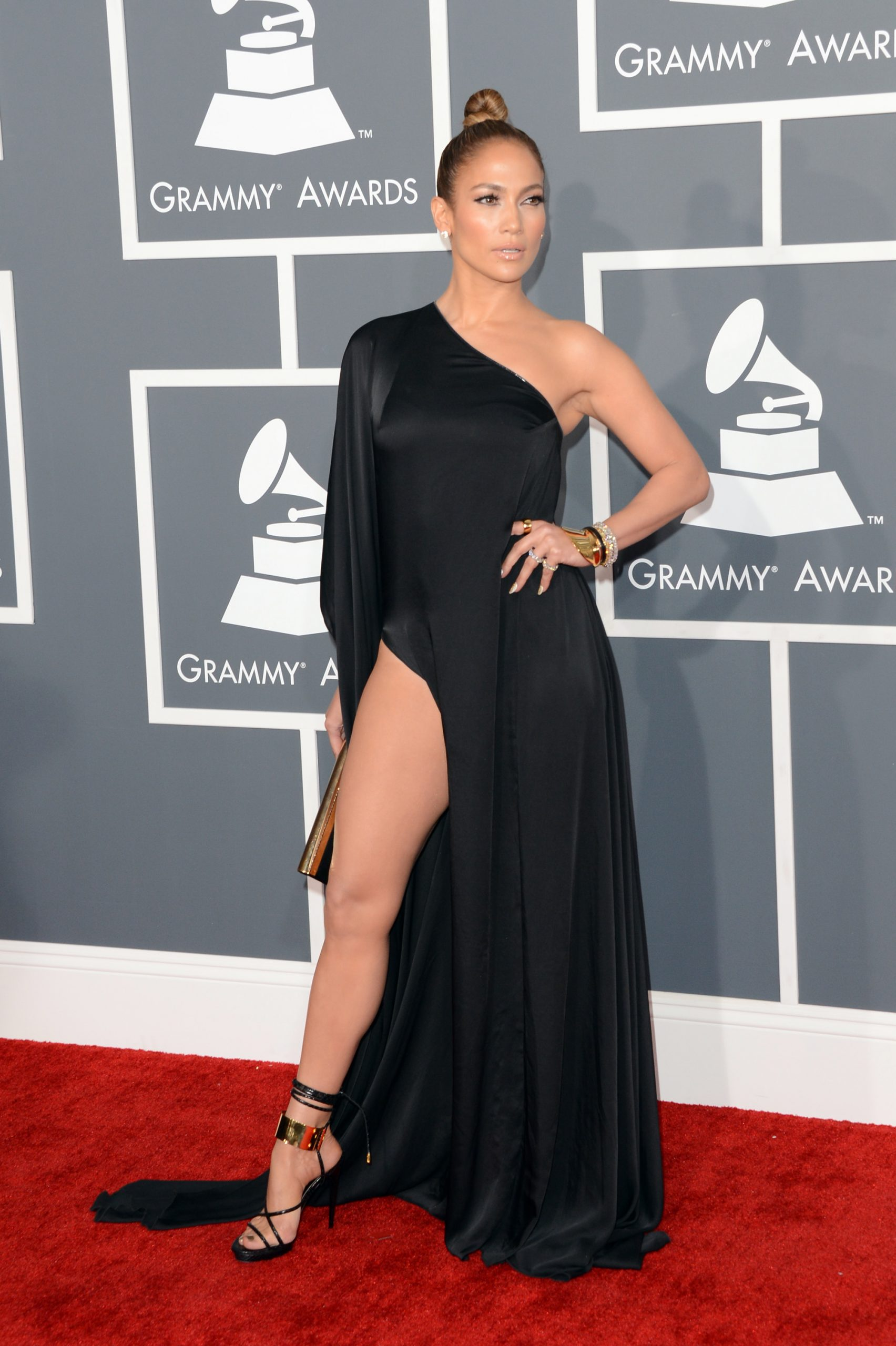 Jennifer Lopez at the Grammys