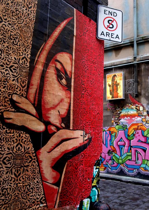 Street Art, Melbourne, VIC
