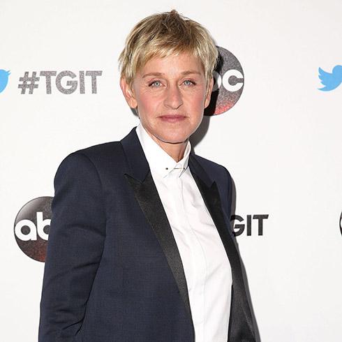 Ellen DeGeneres on red carpet