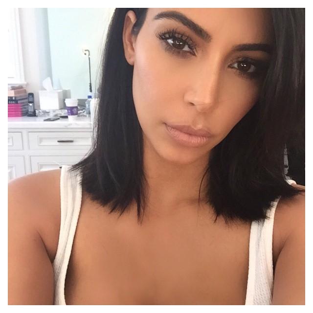 After: Kim Kardashian West