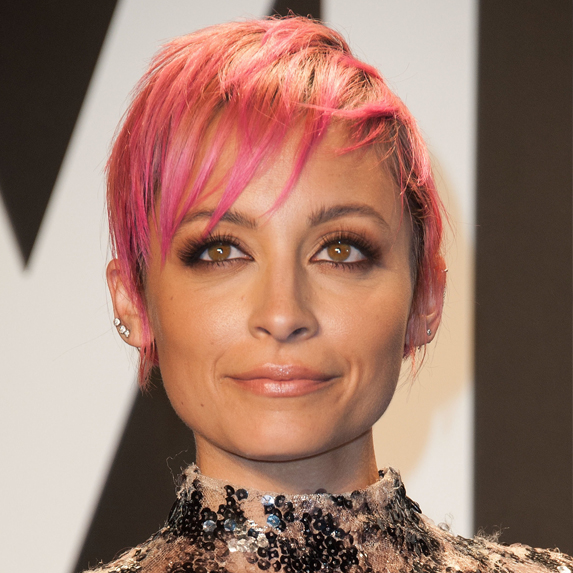 After: Nicole Richie