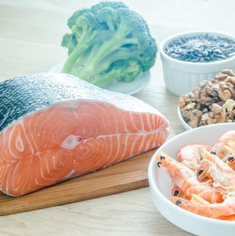 Diet rich in omega fatty-acids