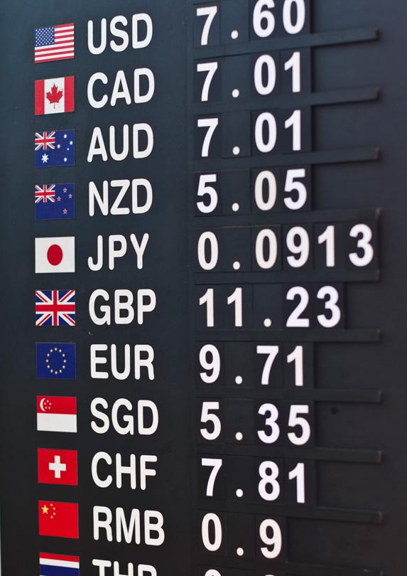 8. Keep Tabs on Exchange Rates