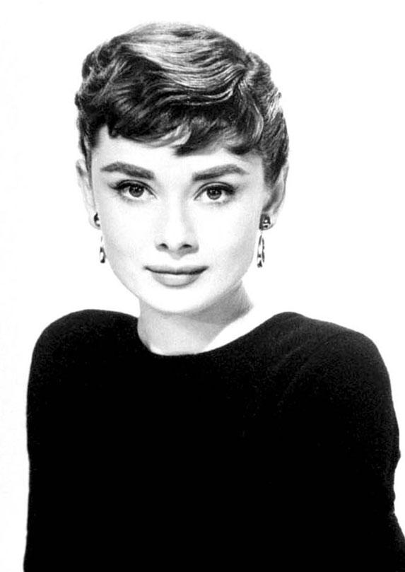 Audrey Hepburn on fashion