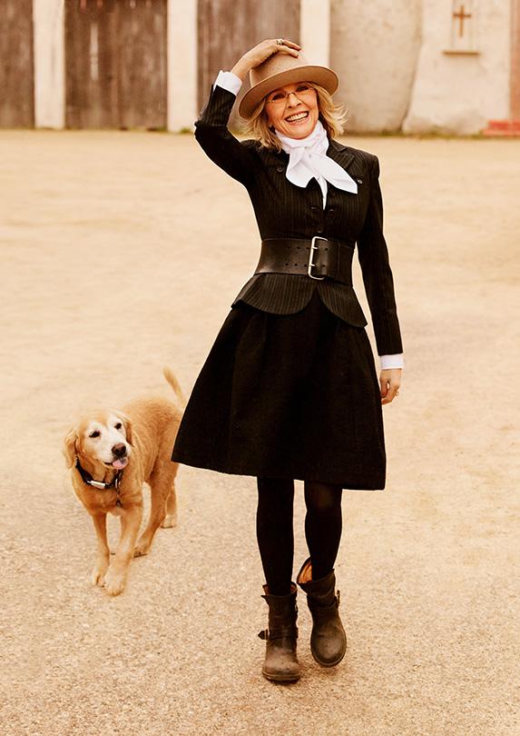 Diane Keaton on fashion