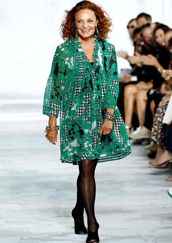 Diane von Furstenberg on fashion