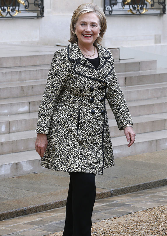 Hillary Clinton on fashion
