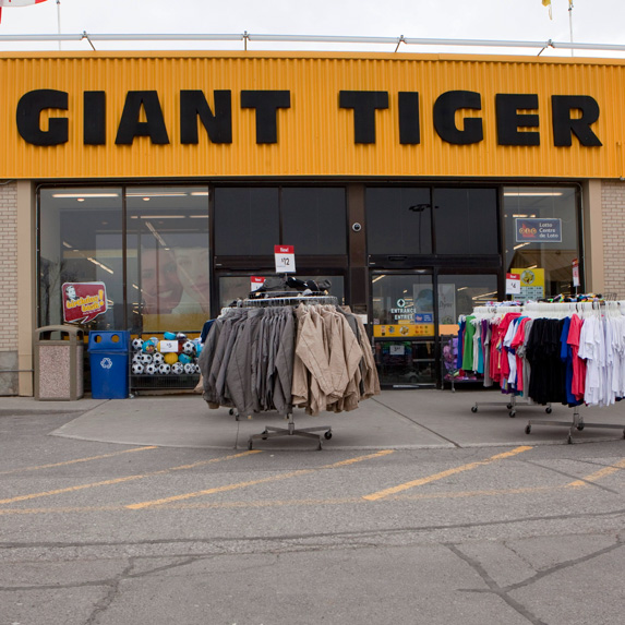 Giant Tiger price match policy