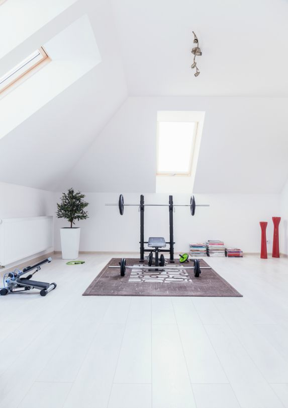 Set up a really great home gym