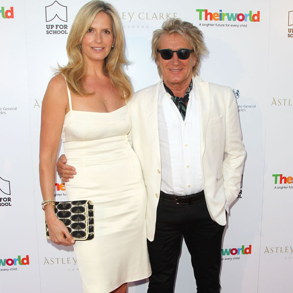 Rod Stewart and Penny Lancaster age gap