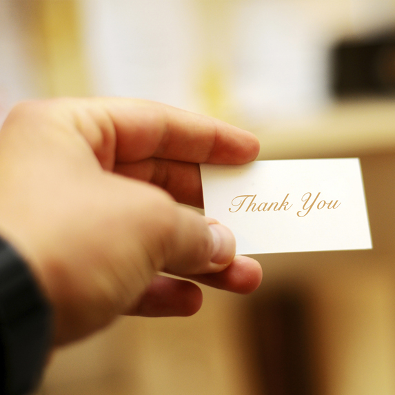 "Mistake 4: We don't say ""thank you"" for the little things"