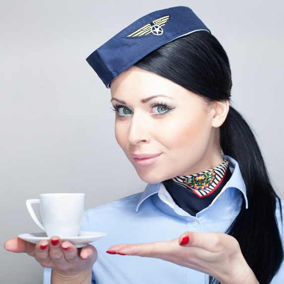 pilot says don't drink coffee on flight