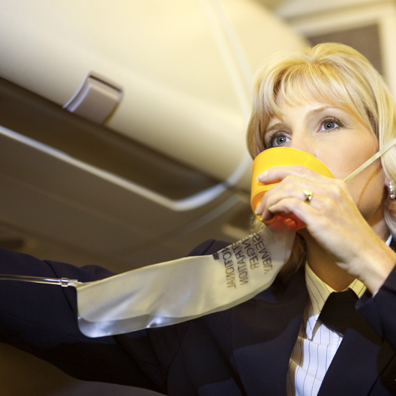 facts about oxygen on a flight