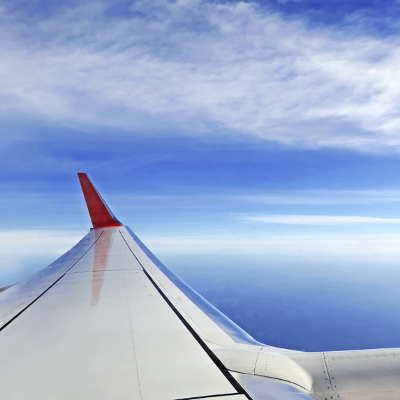 airline secrets sit over the wing