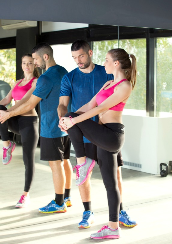 Working with certified and experienced fitness professionals