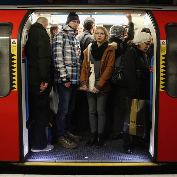 expensive transit in London, UK