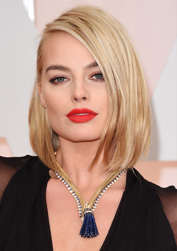 Margot Robbie million dollar necklace