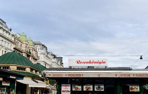 7. Naschmarkt's Flea Market