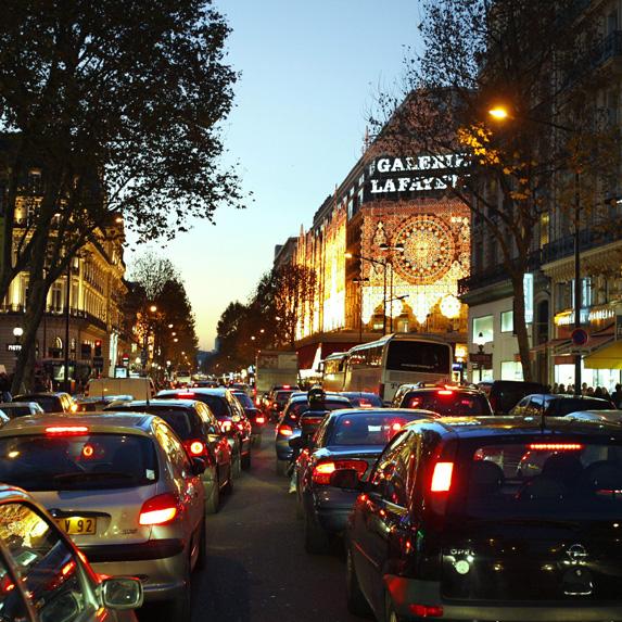 expensive commute in Paris, France