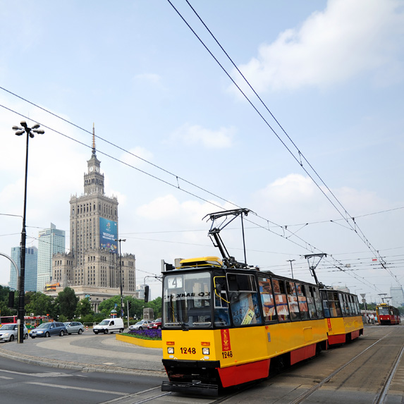expensive commute in Warsaw, Poland
