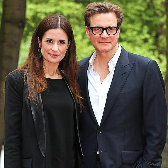 Colin Firth and Livia Giuggioli relationship