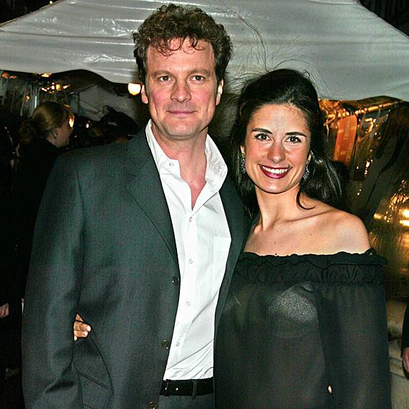 Colin Firth and Livia Giuggioli younger photo
