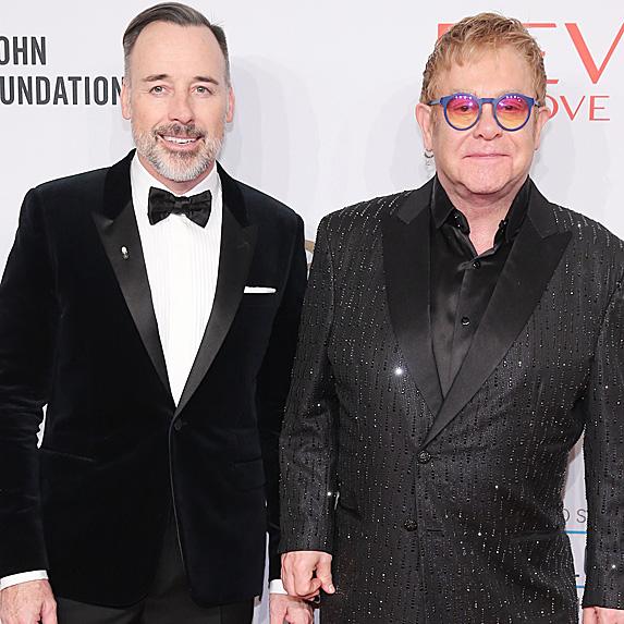 Elton John and David Furnish relationship
