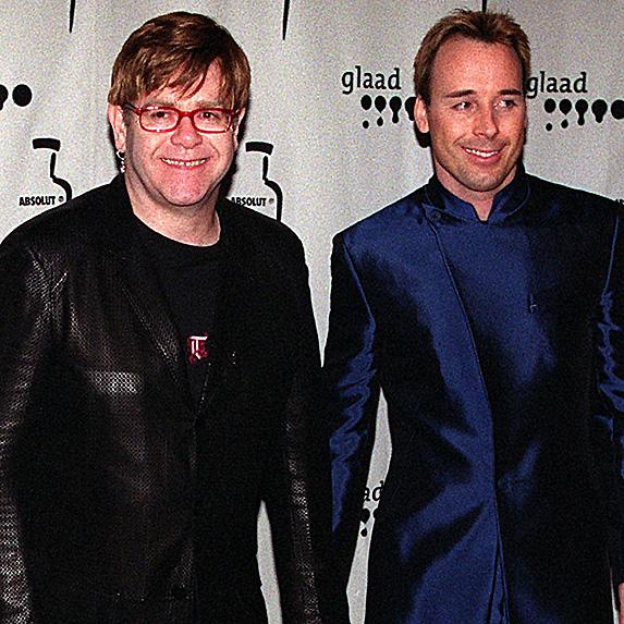 Elton John and David Furnish couple