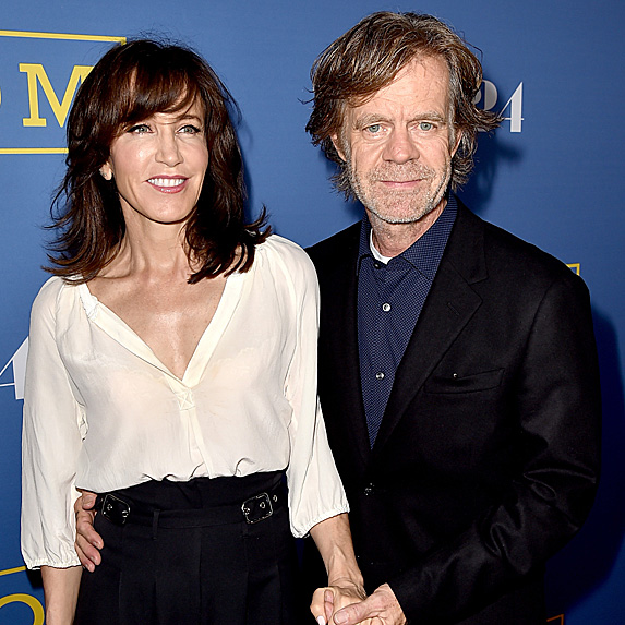 William H. Macy and Felicity Huffman relationship