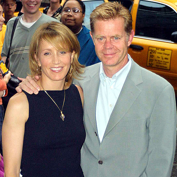William H. Macy and Felicity Huffman couple