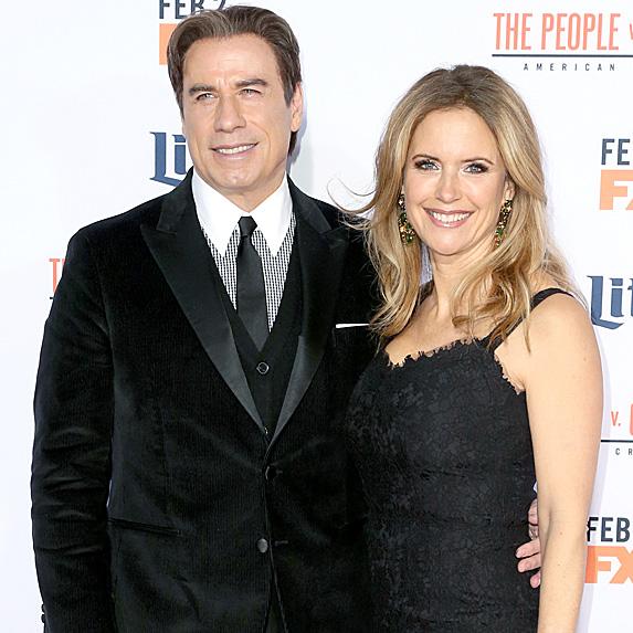 John Travolta and Kelly Preston relationship