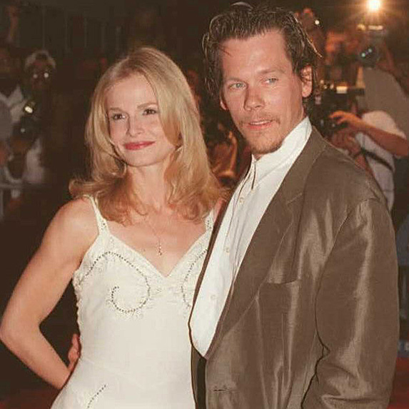 Kyra Sedgwick and Kevin Bacon younger