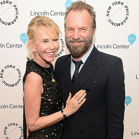 Sting and Trudie Styler relationship