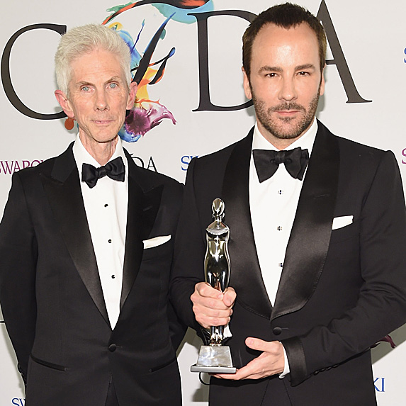 Tom Ford and Richard Buckley relationship