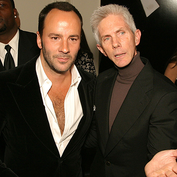 Tom Ford and Richard Buckley couple