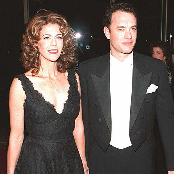 Tom Hanks and Rita Wilson younger photo